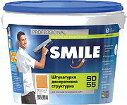 Штукатурка SD-55 Smile декорат. камешковая  1,0-1,5мм/16кг