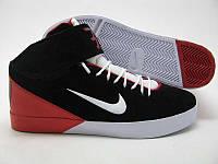 Кроссовки Nike Air Force CD черно-красные