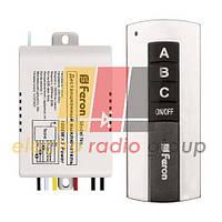 ТМ76 дистанционный выключатель 3 канала 1000W 30м