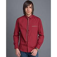 Мужская рубашка с вышивкой «Вузлик червоний»