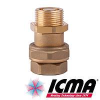 Icma S142 двойной запорный клапан 3/4 для демонтажа расширительного бака