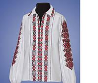 Вышитая блуза для девочки Сапфир