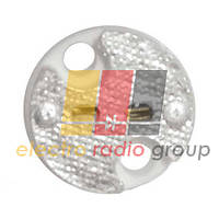 Патрон G5.3 кераміка 4А, 250В, провода 15 см.