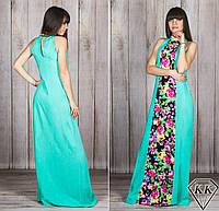 Бирюзовое платье 15885