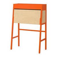 IKEA PS 2014 Бюро, оранжевый, березовый шпон