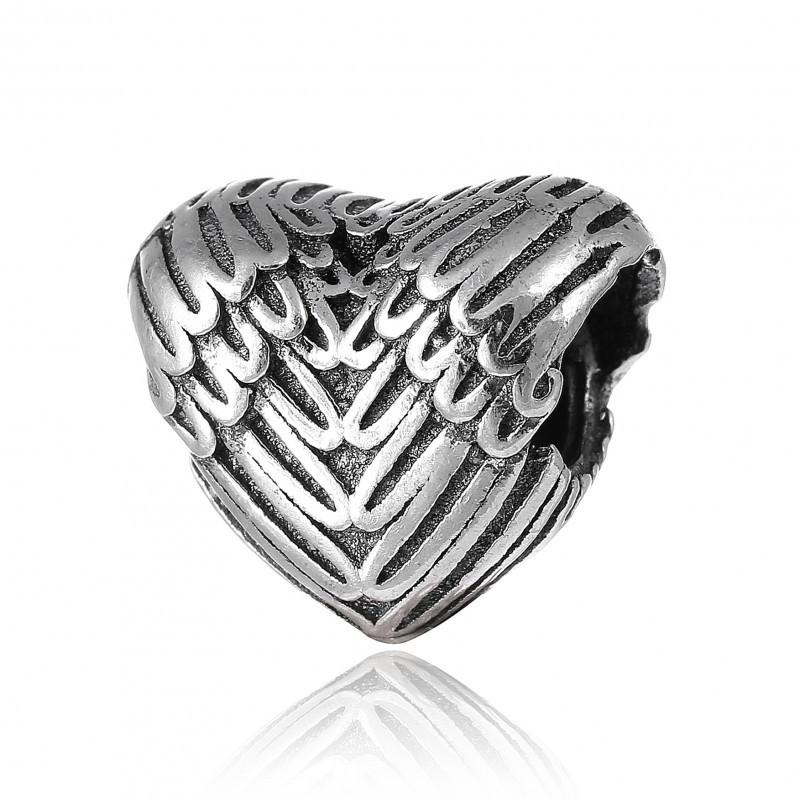 Шарм бусина Пандоры Крылья Ангела серебро 925 пробы П5/8105