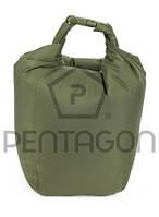 "K16041M Сумка герметичная ""Pentagon"" Dry Bag EFI (зеленая) p.M"