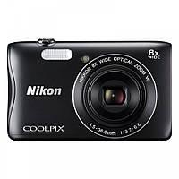 Ультракомпактный фотоаппарат Nikon Coolpix S3700 Black