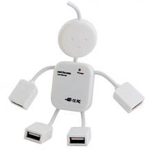 Разветлитель USB HUB S Человечек 4 порта (300) FFK