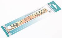 Пилочка для ногтей форма прямая 150/220 ZINGER Оригинал! CVL  EA303 /05-11