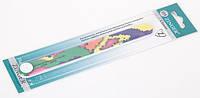 Пилочка для ногтей форма прямая 150/220 ZINGER Оригинал! CVL   EA306 /05-11