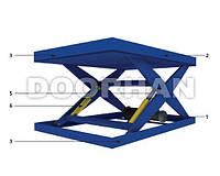 Подъемные столы Дорхан