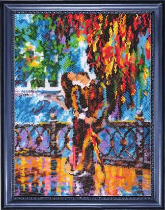 """Набор для вышивания бисером """"Поцелуй после дождя"""", фото 2"""