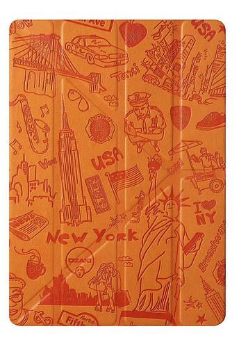 """Классный чехол в стиле """"Нью-Йорк"""" для планшета 9.7"""" OZAKI O!coat Travel iPad Air 2 (New York) OC119NY"""