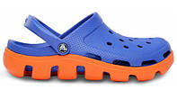 Crocs мужские Duet Sport Clog Blue Orange , фото 1