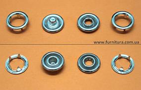 Кнопка трикотажная FB D-9,5 мм- никель