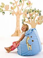 Как выбрать бескаркасное кресло для детской комнаты?