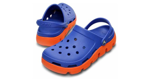Crocs мужские Duet Sport Clog Blue Orange