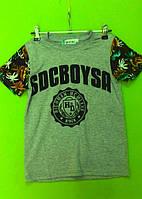 Футболка для мальчика р.134-164 Goloxy, купить детские футболки оптом