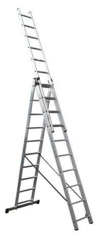 Универсальная лестница Forte СЕ 3х10-ступеней