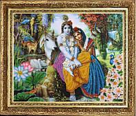 """Набор для вышивания бисером """"Кришна и Радха"""""""