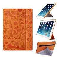 "Модный чехол ""Нью-Йорк"" для планшета диагональю 7.9"" OZAKI O!coat Travel iPad mini 4 (New York) OC112NY"