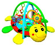 """Развивающий игровой коврик """"Божья коровка Deluxе"""" Biba Toys"""