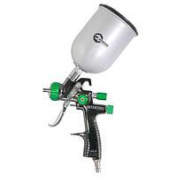 Краскораспылитель пневматический LVLP GREEN NEW INTERTOOL PT-0131