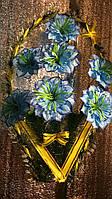 Тюльпан с Мальвой от кольца