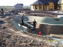 Строительство искусственного водоема  1