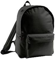 Рюкзак молодежный SOL'S RIDER черный , магазин рюкзаков