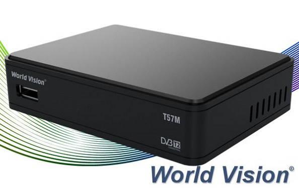 Т2 Тюнер World Vision T57M, фото 2