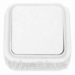 Выключатель 1-кл. накладной белый Аватар GAV 653