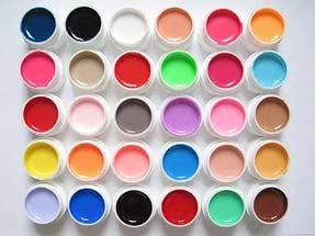 Гель цветной