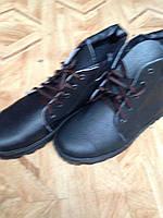 Кирзовые мужские ботинки