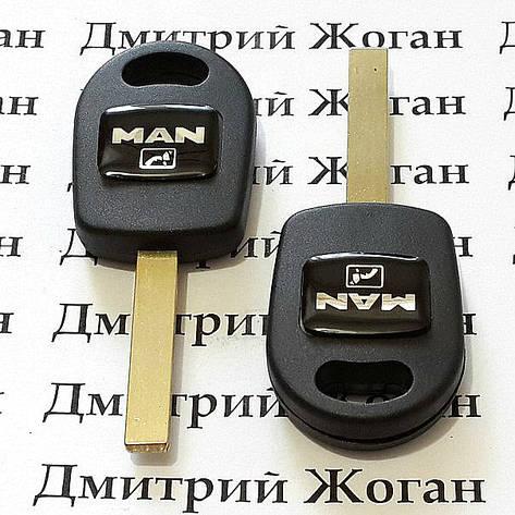 Корпус авто ключа под чип для MAN (МАН), фото 2