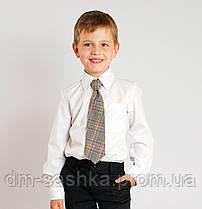 Рубашка для мальчика классическая белая