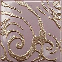 Плитка Атем Орли настенная декор Atem Versus Orly V Gold 100x100 мм