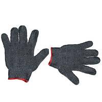 Перчатка х/б трикотаж с точечным покрытием PVC INTERTOOL SP-0102