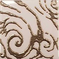 Плитка Атем Орли настенная декор Atem Versus Orly B Gold100 мм