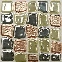 Плитка Атем Орли настенная декор Atem Streza Mosaik GN 100x100 мм