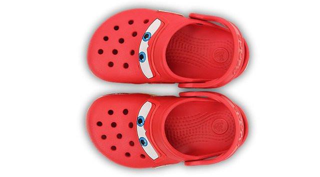 Crocs детские  Crocs Cars CrocsLights Clog Red