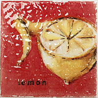 Плитка Атем Орли настенная декор Atem Streza Lemon W 100x100 мм
