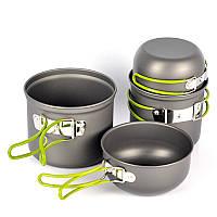 Набор алюминиевой посуды для выживания