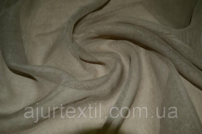 Тюль французский кристалон серый, фото 2