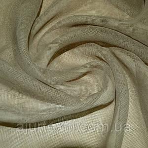 Тюль французский кристалон серый