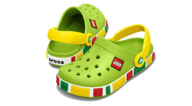 Crocs детские Crocband Lego Green