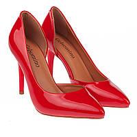 Изящные туфли на шпильке от Gelsomino (элегантные, удобные, кораллового цвета)