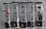 Наушники вакуумные с микрофонам проводные M18 (в тубусе), наушники для телефона, вакуумные наушники