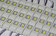 Светодиодный модуль smd 5730 Холодный белый 6500K 3 диода
